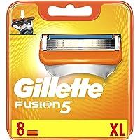 Gillette Fusion5 Scheermesjes, 8 Navulmesjes Met 5 Anti-Frictiemesjes