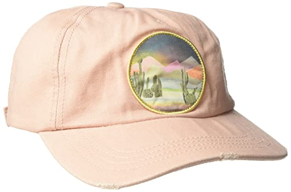 a9340b21 Billabong Women's Surf Club Canvas Baseball Cap, Pink Mist One Size ...