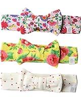 Rosie Pope Baby Girls' 3 Pack Headbands
