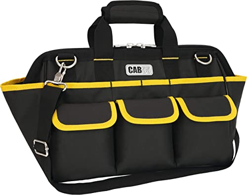 Tools Bag CAB55 16-inch Wide Mouth Tool Bag with Water Proof Molded Base