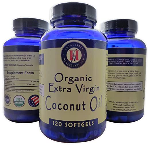 Hothersall Organic Extra Virgin Coconut Oil