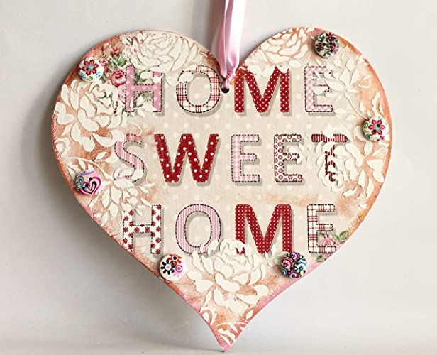 new home gift idea home sweet home plaque free uk delivery
