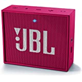JBL Go - Altavoz portátil para smartphones, tablets y dispositivos MP3(3 W, Bluetooth, recargable, AUX, 5 horas), color rosa