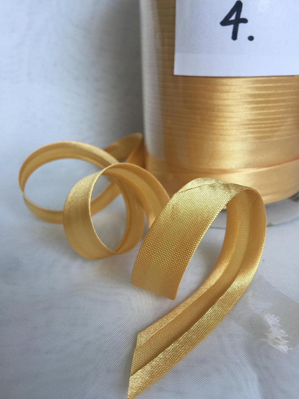 10 meters pack Satin Bias binding tape 15mm 1.White //10M