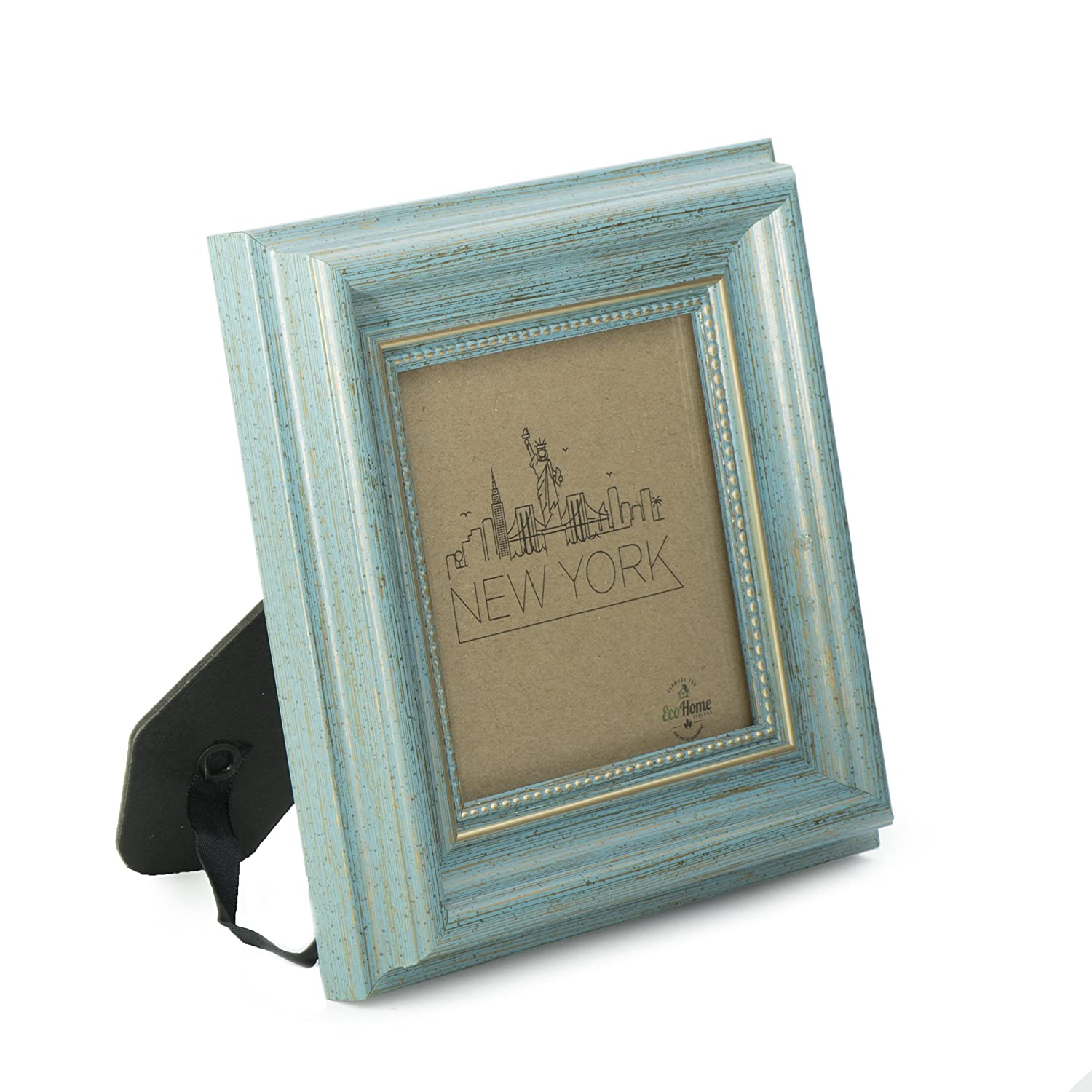 Ecohome 4x4 Picture Frame Square Tabletop Display Or