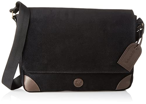 ca45056f52 Timberland Mens TB0M5529Messenger Bag Black Black (Nero 001)  Amazon.co.uk   Shoes   Bags