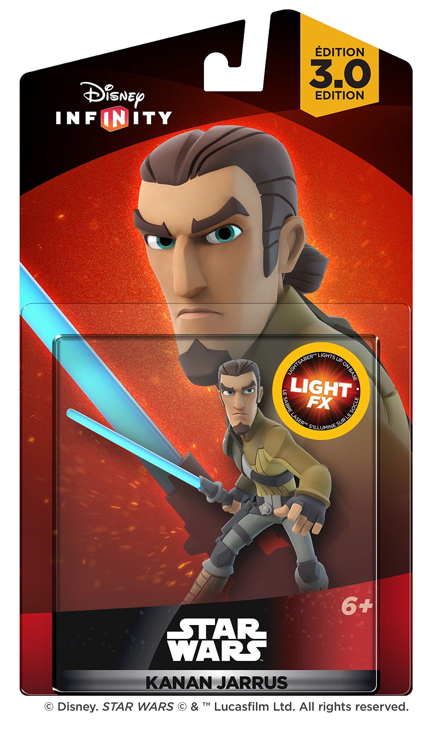 Disney Infinity 3.0 Edition: Star Wars Kanan Jarrus Light FX Figure - Amazon Exclusive