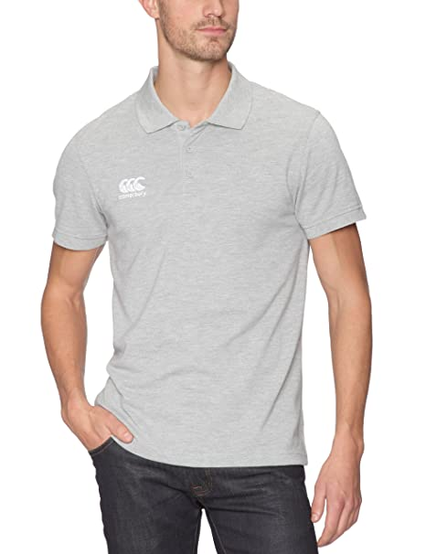 Canterbury Waimak - Polo de Rugby para Hombre, Color Gris: Amazon ...