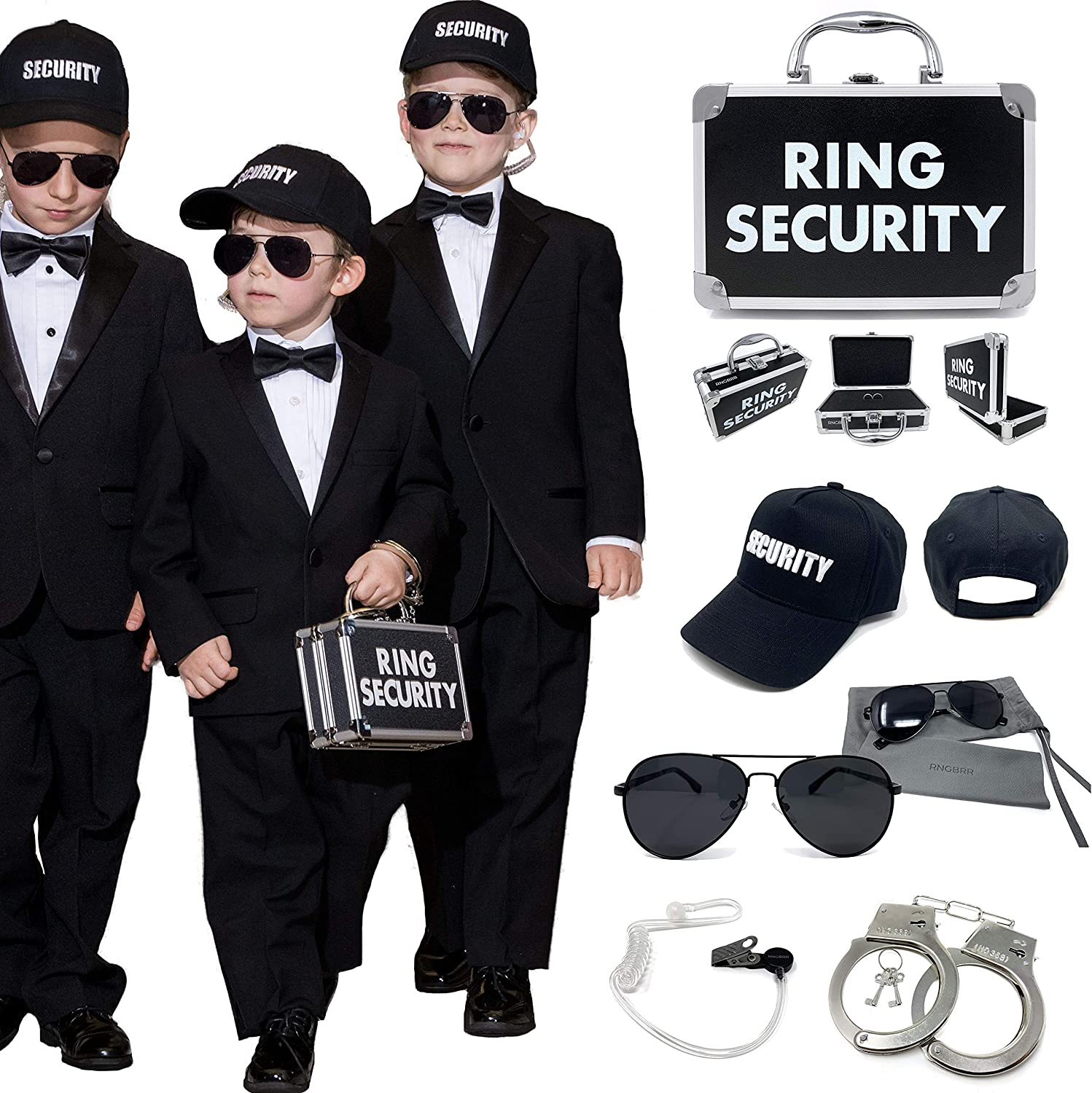 RNGBRR Security Handcuffs for Ring Bearer