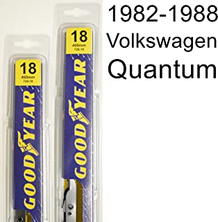 "product image for Volkswagen Quantum (1982-1988) Wiper Blade Kit - Set Includes 18"" (Driver Side), 18"" (Passenger Side) (2 Blades Total)"