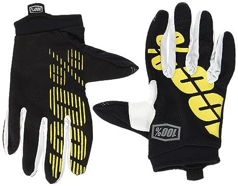 4cd7a9974485d1 Inconnu 100% iTrack Schutz-Handschuhe S bunt - Noir et Jaune Fluo