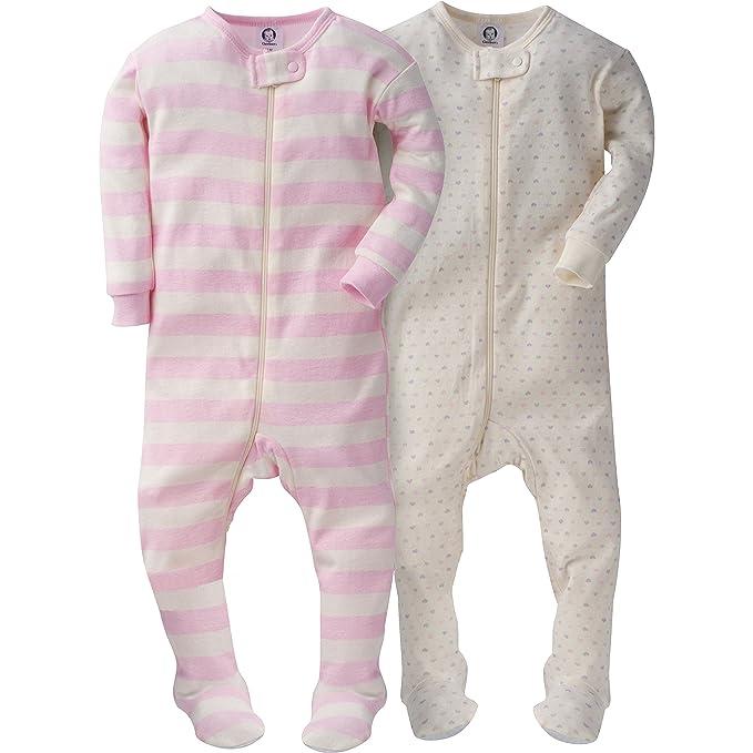 a15f565c Gerber - Juego de 2 Pijamas para niña: Amazon.com.mx: Ropa, Zapatos ...