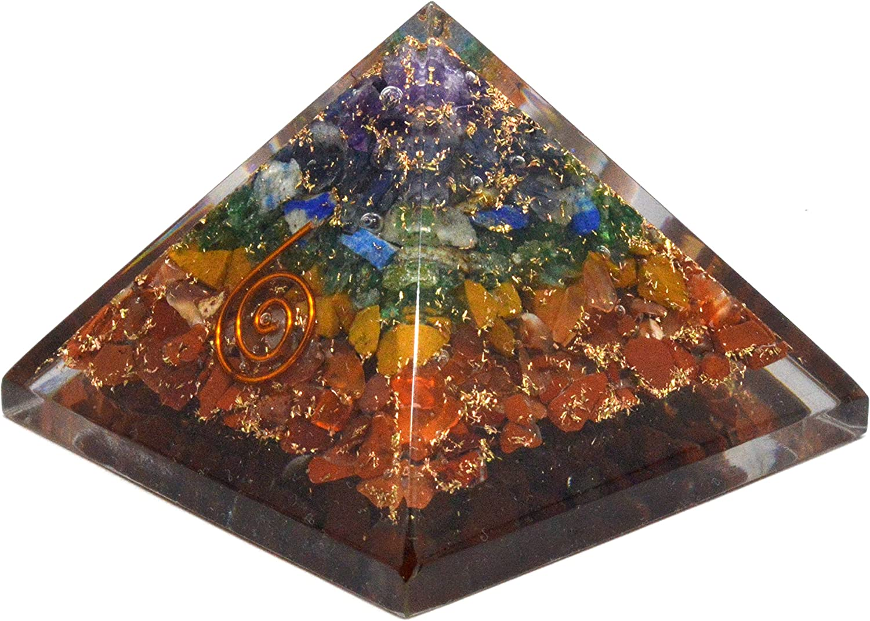 Sacral Confidence Carnelian Orgonite Metaphysical crystal healing Root Solar Chakras Orgone Energy