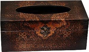 Oriental Furniture Olde-Worlde European Tissue Box