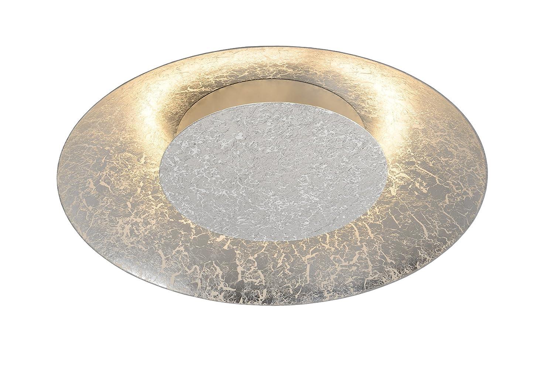 Lucide FOSKAL - Deckenleuchte - Ø 34,5 cm - LED - 1x12W 2700K - Silber