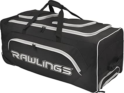 a7cb072e5c30 Amazon.com   Rawlings Yadi Wheeled Catcher s Bag