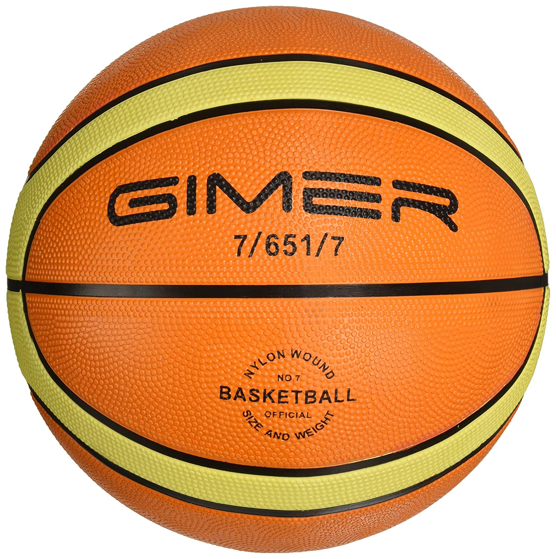 GIMER 7/651/7, balón Baloncesto Goma Unisex-Adulto, Unisex Adulto ...