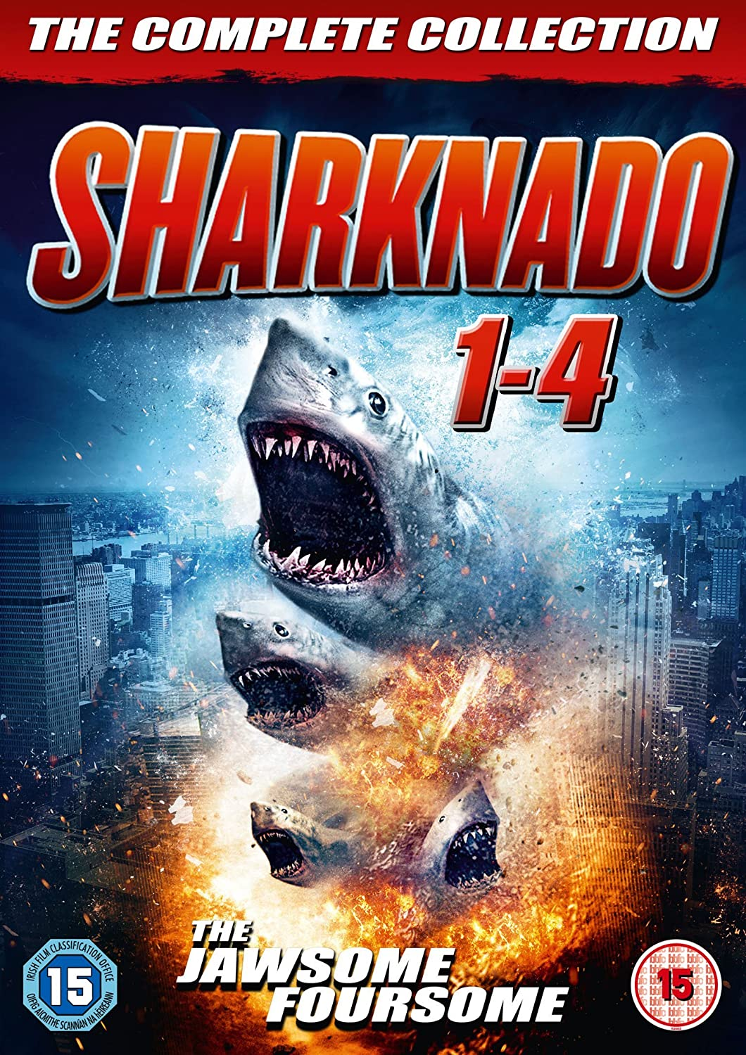 Sharknado 1-4 Box Set [DVD] [Reino Unido]: Amazon.es: Tara Reid ...