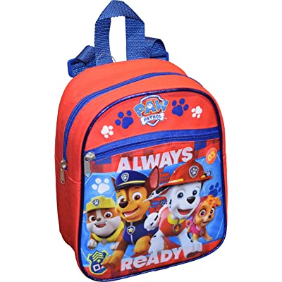 "Nickelodeon Paw Patrol Boy's 10"" Mini Backpack With 3D Artworks 