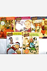 5-Pack New CALENDAR CLUB Mystery Books -Scholastic - Shipping Saver! (Calendar Club, 1, 3, 4, 5, April Fools) Paperback