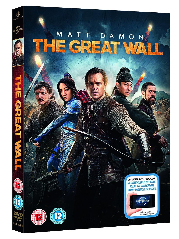 The Great Wall (+ digital download) [2017] [DVD]: Amazon.co.uk: Matt ...