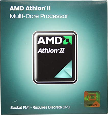 AMD Athlon II X4 631 2.6GHz 4x1 MB L2 Cache Socket FM1 100W Quad-Core Desktop Processor - Retail AD631XWNGXBOX Components at amazon