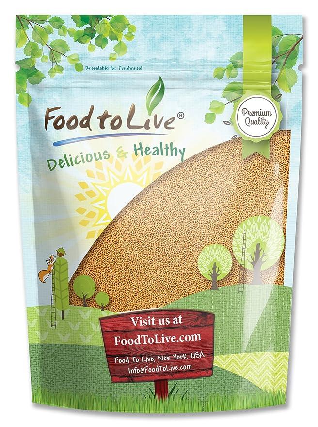 Food to Live Semillas de trébol para brotar (Kosher) 453 gramos: Amazon.es: Alimentación y bebidas