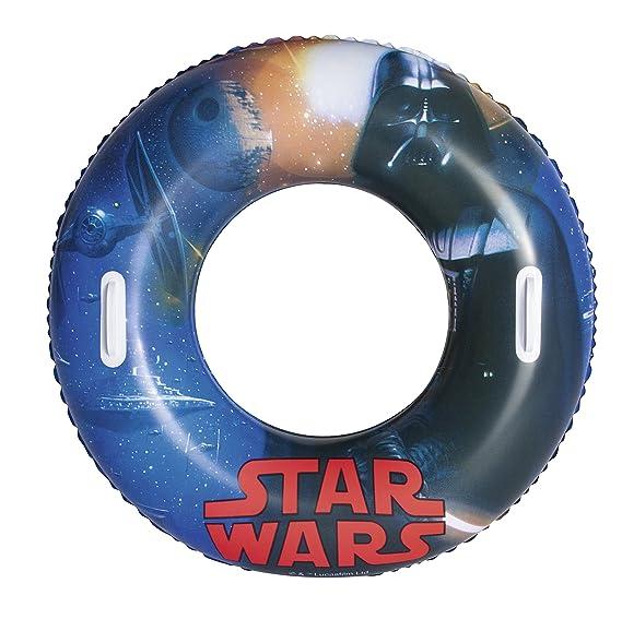 Bestway 91203 Swim Ring Flotador para natación - flotadores para natación (Swim Ring, Azul, Vinilo, Full Color Box): Amazon.es: Juguetes y juegos