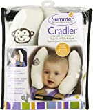 Kiddopotamus Cradler Adjustable Head Support for Newborns to Toddlers, Ivory Teddy Bears (Discontinued by Manufacturer)