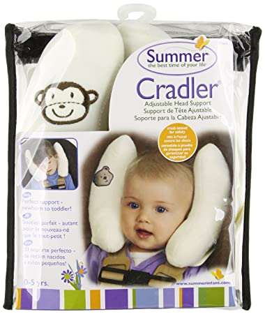 Amazon.com: Kiddopotamus Cradler Adjustable Head Support for Newborns to Toddlers: Baby