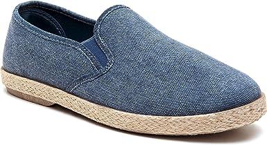Mocassini - Alpargatas para hombre, artesanales, informales, zapatos bajos de verano