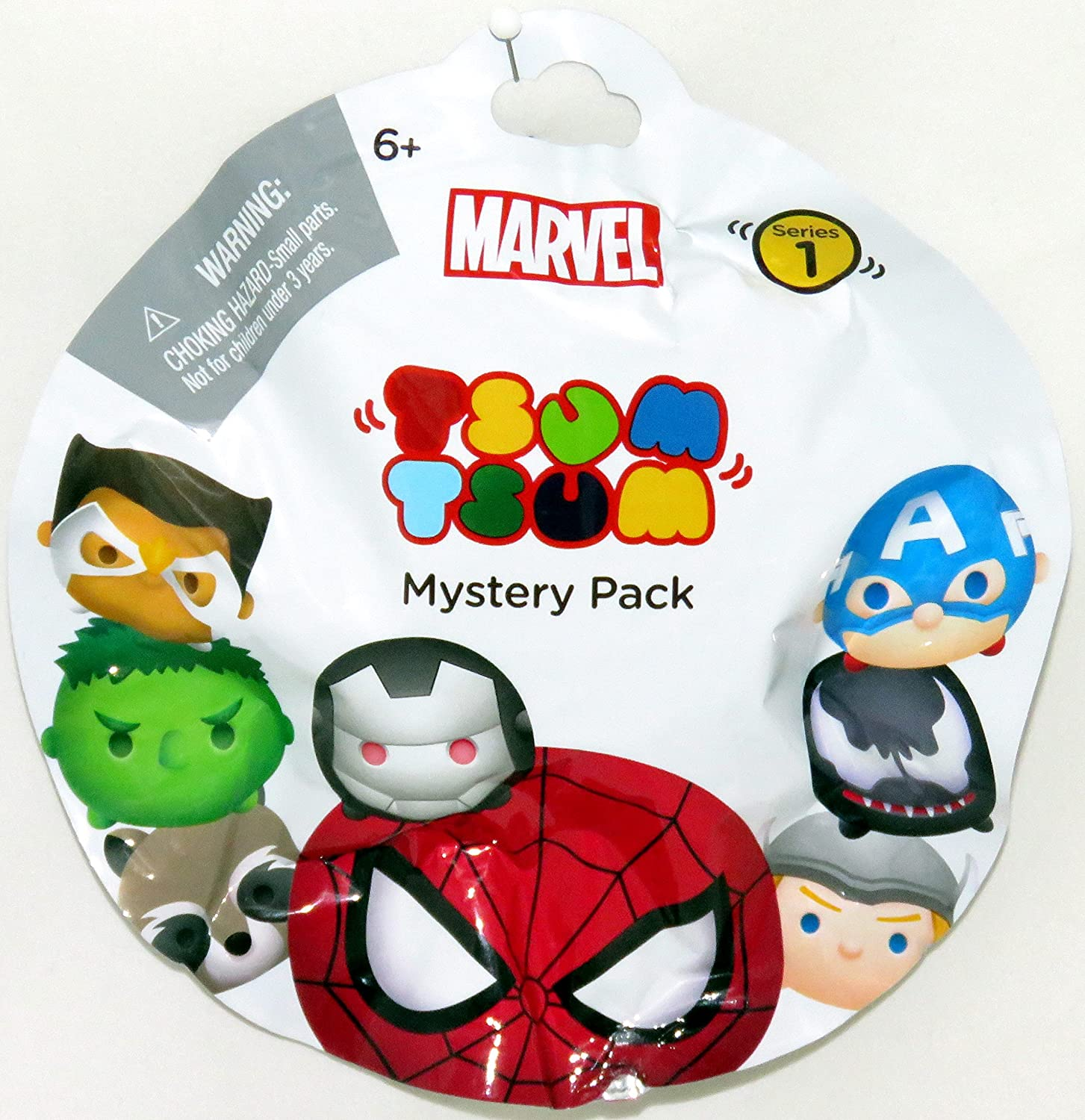 Marvel Tsum Tsum Mystery Pack Series 1 - One Blind Bag: Amazon.es ...