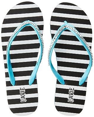 Lavie Women's Flip-Flops House Slippers Flip-Flops & Slippers at amazon