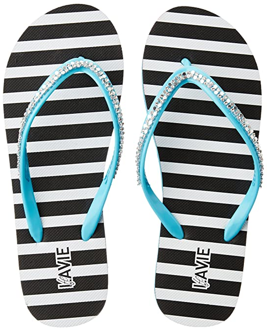Lavie Women's Flip-Flops House Slippers Flip-Flops & Slippers at amazon