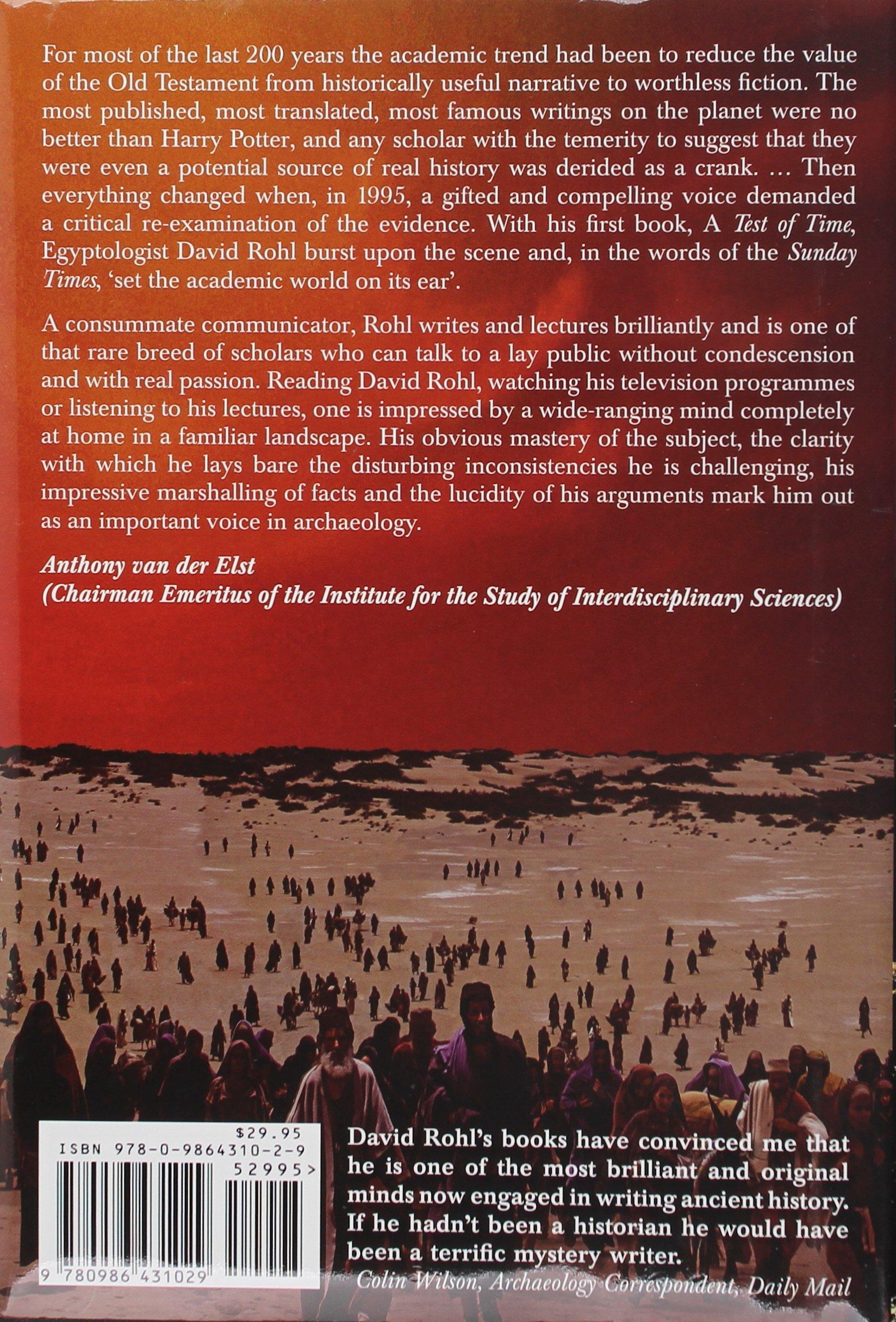 Exodus €� Myth Or History?: David Rohl: 9780986431029: Amazon: Books