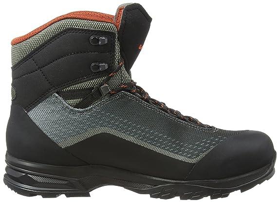 Lowa Irox GTX Mid, Chaussures de Randonnée Hautes Homme, Gris (Olive/Schwarz 7899), 46 EU