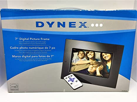 Amazon Dynex 7 Inch Digital Picture Frame Camera Photo