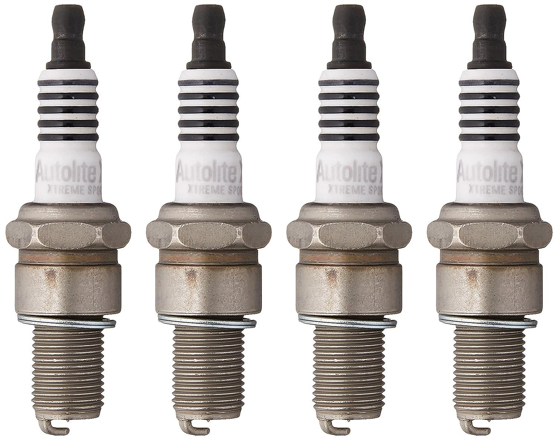 Pack of 4 Autolite XS4063S-4PK Xtreme Sport Iridium Powersports Spark Plug