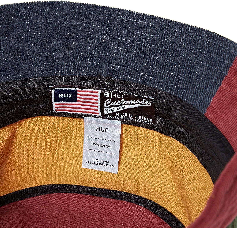Multi-Coloured HUF Mendoza Corduroy Bucket Hat