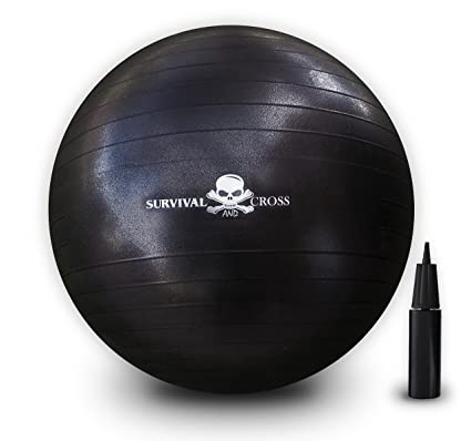 Amazon.com: Survival and Cross pelota de yoga, ejercicio de ...