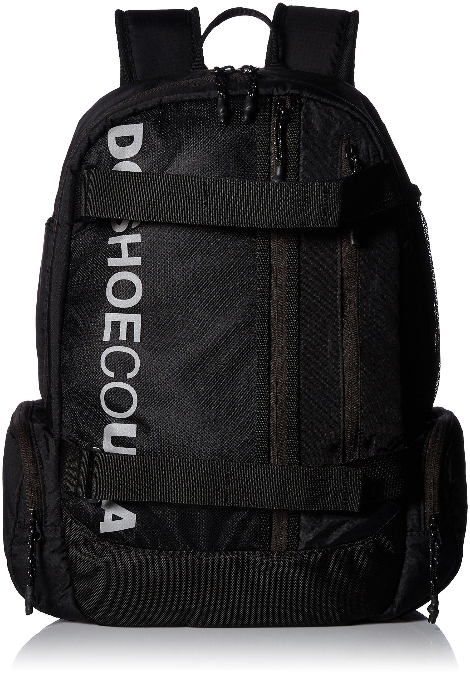 DC Men's BUSHINGS Skateboard Backpack, black, 1SZ