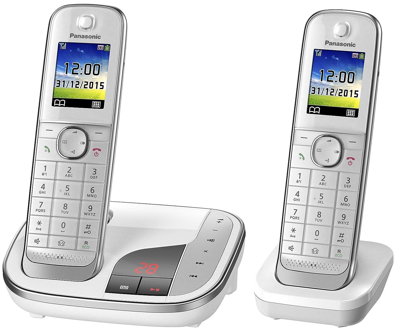 Panasonic KX-TGJ322GW Duo avec ré pondeur (version allemande!) blanc Panasonic Deutschland GmbH