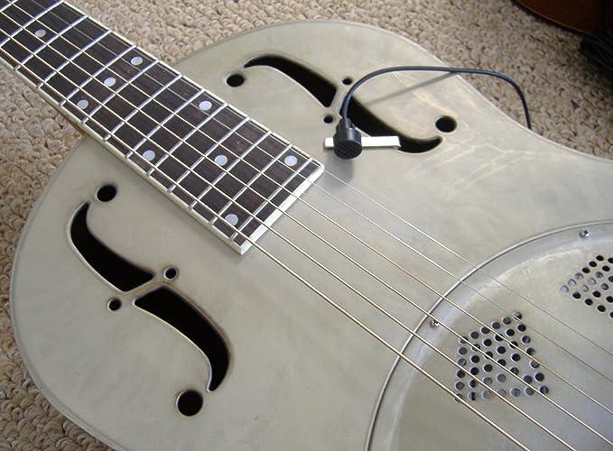 Pickup Micrófono Micrófono para guitarra clásica de resonancia ...