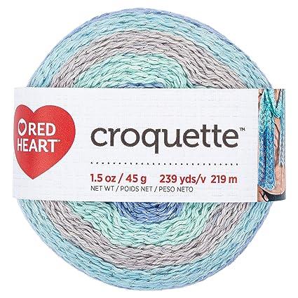 Amazoncom Red Heart E8879582 Croquette Crochet Thread Calming