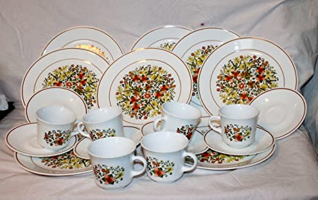 Corelle - Indian Summer - 10-1/4\u0026quot; Dinner Plates (Set of : summer dinnerware sets - pezcame.com