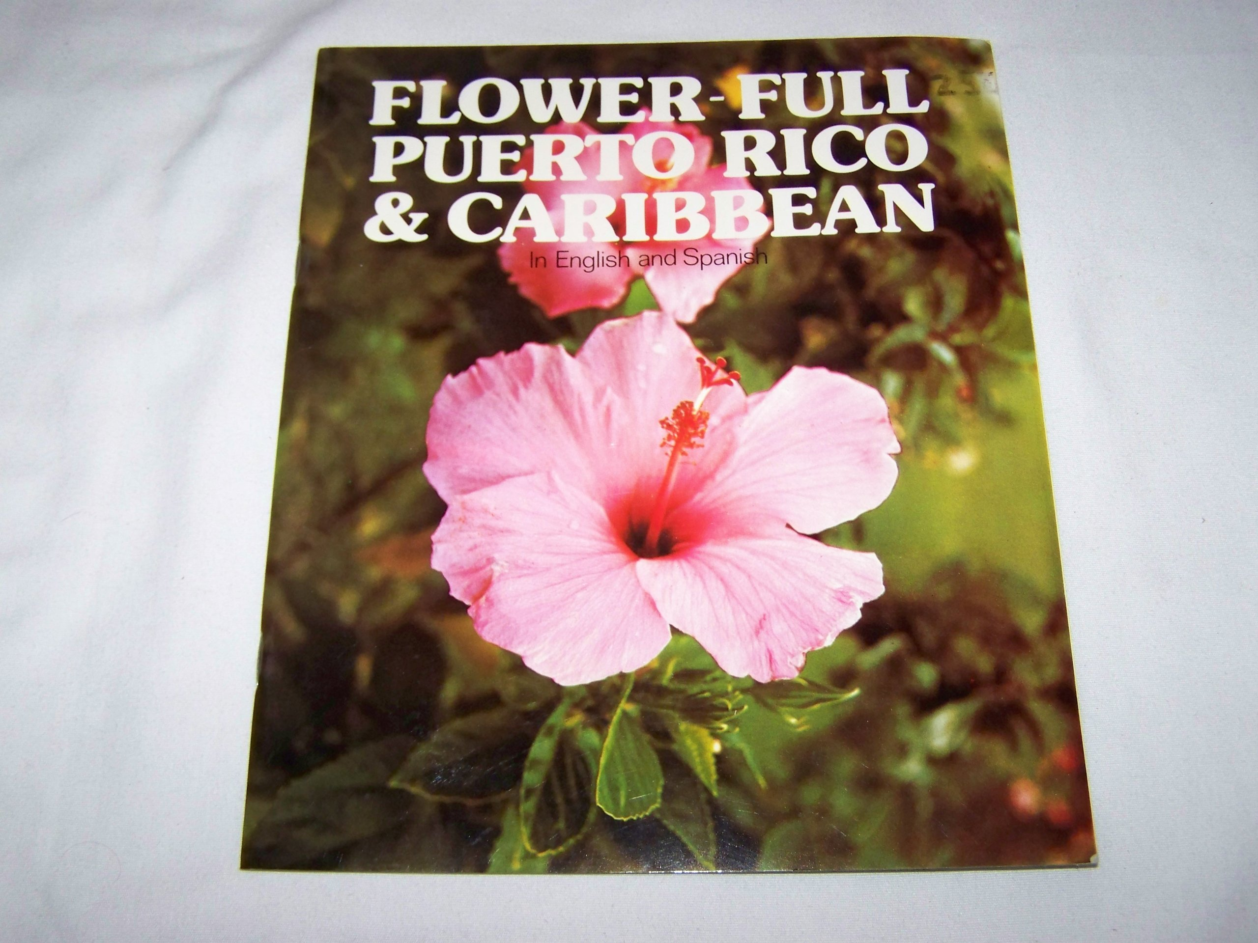 Flower Full Puerto Rico Caribbean In English And Spanish Freck