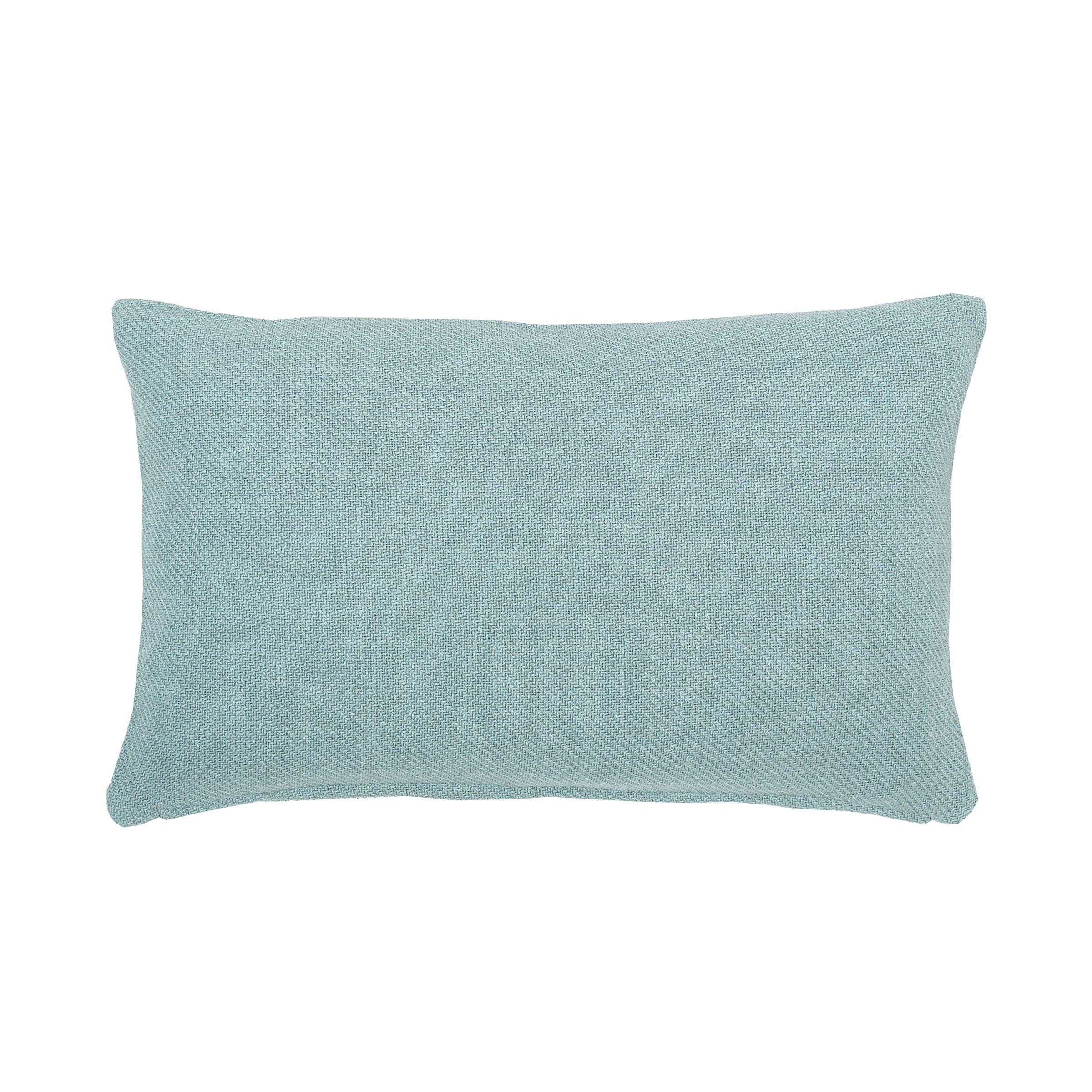 C&F Home Sheridan Sea Glass Woven Pillow 14 x 22 Sea Glass