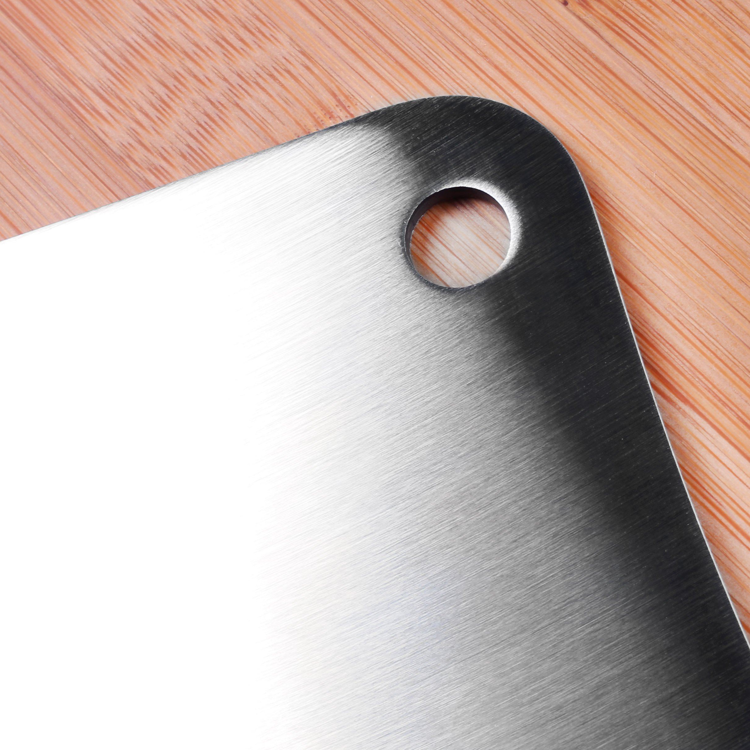 Utopia Kitchen 7 Inches Stainless Steel Cleaver - Chopper Butcher Knife - Multipurpose Use for Home Kitchen or Restaurant by Utopia Kitchen (Image #7)