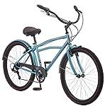 Schwinn S4012C Costin 7 Speed Cruiser - Bicicleta para Hombre, Color Gris, 73,66 cm