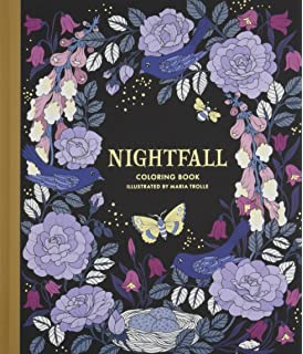 Nightfall Coloring Book Originally Published In Sweden As Skymningstimman